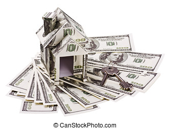 house of money and the keys to new homes