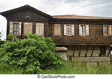 House of the Old town of Sozopol, Bulgaria, Bulgarian Black Sea Coast