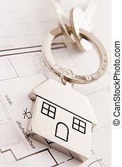 House On A Key Chain