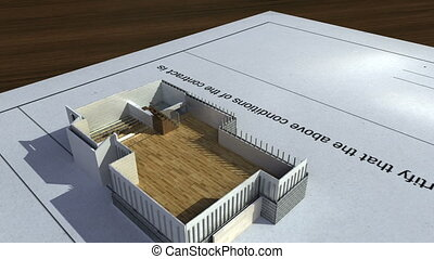 house on a signed contract. - Constructed house on a signed...
