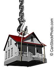 House on hook