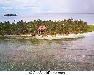 House on private island