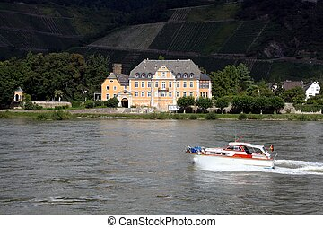House on the Rhine, Germany