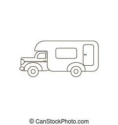 House on wheels trailer