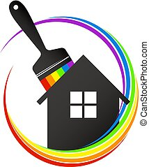 House painting brush