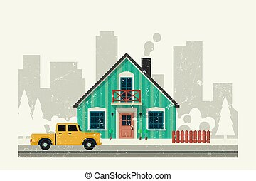 house., particulier