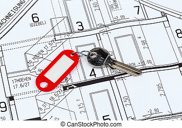 house plan with key