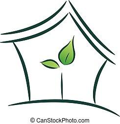 House Plant Gardening Illustration