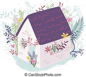 House Plants Illustration