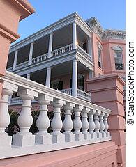 House porch detail