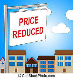 House Price Reduced Means Propertie