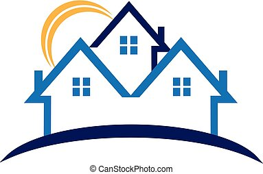 House real estate business vector