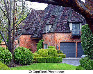 House - Red Brick house