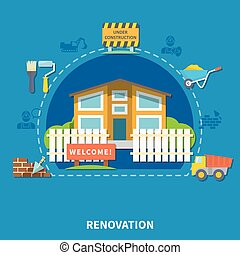House Renewal Concept