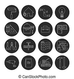 House repair icons