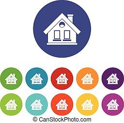House set icons