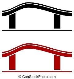 House sign logo