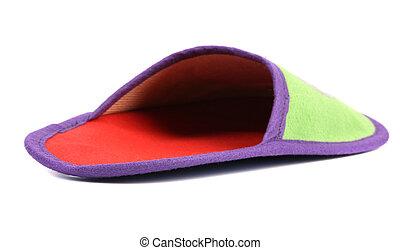 House slipper.