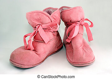 House slippers - A photo of booties.