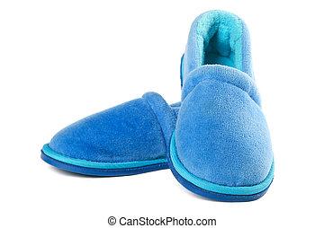 House slippers - Pair of children house slippers on white ...