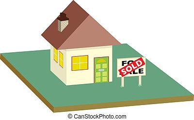 house sold garden