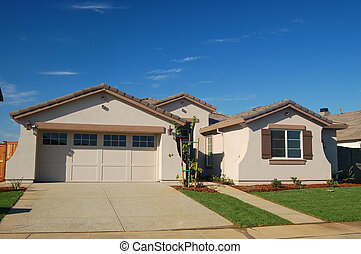 house - suburban house
