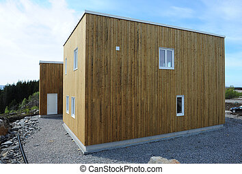 House - Wood Hous