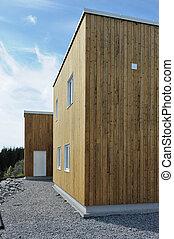 House - Wood House