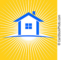 House Sunburst - House sunburst for real estate