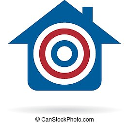 House target for sale logo