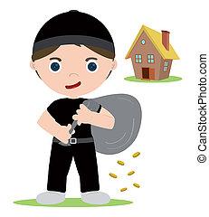 house thief