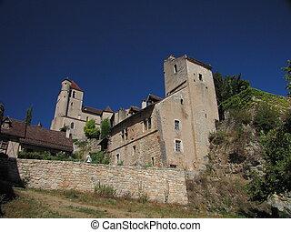 House, Tower, Lapopie