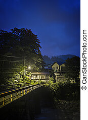 House under light