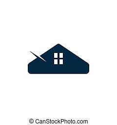 house vector design template illustration