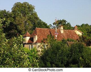 House, village, Berbiguiere
