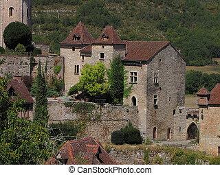House, Village, Lapopie