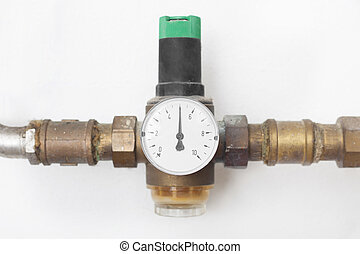 House water pressure reducer