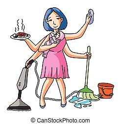 House Wife Multi Job