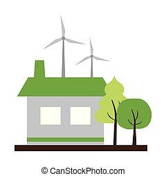 house wind turbines energy
