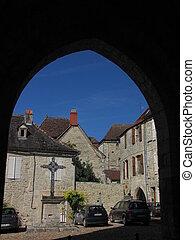 House, window, door, roof, Martel,