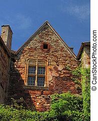 House window,