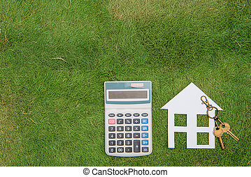 House with a home environment, green living, Mortgage Calculator