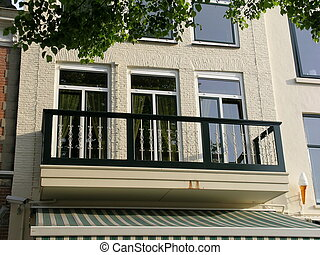 House with balcony - House in Holland