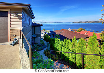 House with beaufitul view on Puget Sound, Tacoma, WA