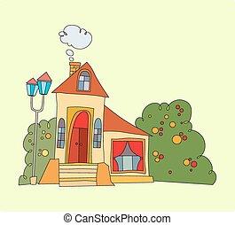 house with big windows