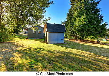 House with small shed
