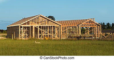 House Wooden Framing