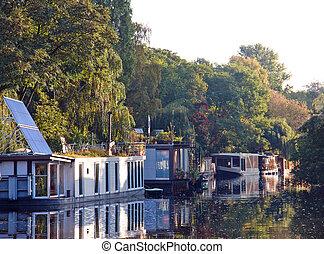 Houseboats on the Landwehrkanal