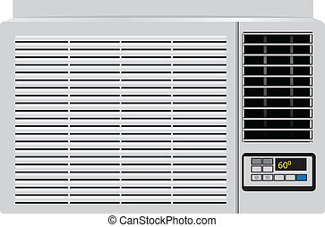 Household air conditioner - Appliance built in window air ...
