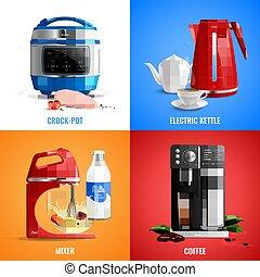 Household Appliances 2x2 Design Concept